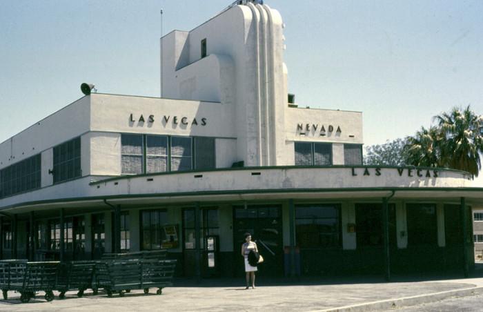 11. Union Pacific Train Depot, Las Vegas, Nevada, 1970