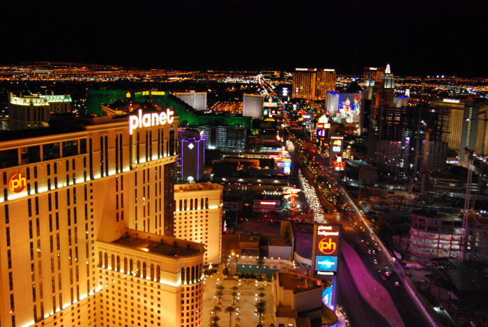 12. The Las Vegas Strip has more than 75,000 miles of neon.