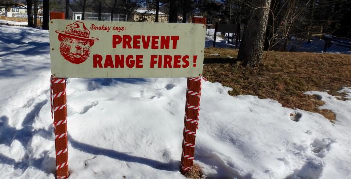 10. Fire prevention awareness.