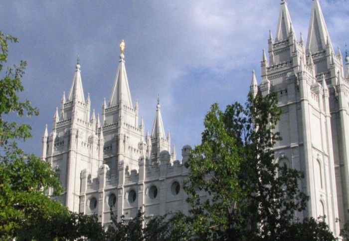 1. They try to walk into the Salt Lake City temple.