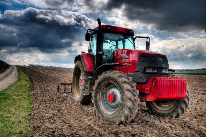 2. Who wouldn't want to spend an afternoon driving this tractor?