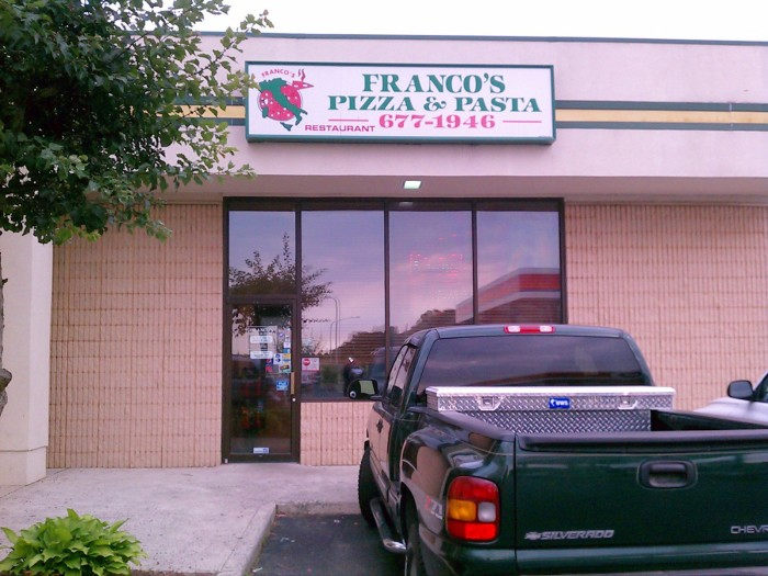 6. Franco's Pizza and Pasta, Dover