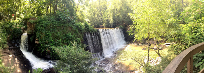 3. Vickery Creek Falls, Roswell, Georgia