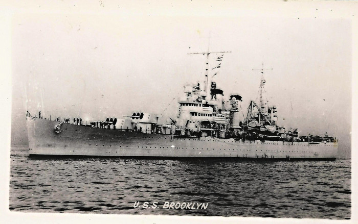 5. The U.S.S. Brooklyn patrolled the east coast during WWII, including patrolling the New Hampshire seacoast around the Isle of Shoals from May 23 to June 3, 1939.