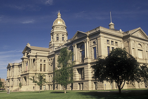 9. Wyoming State Capitol