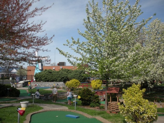 15. Play a round of mini golf at the Magic Putting Place