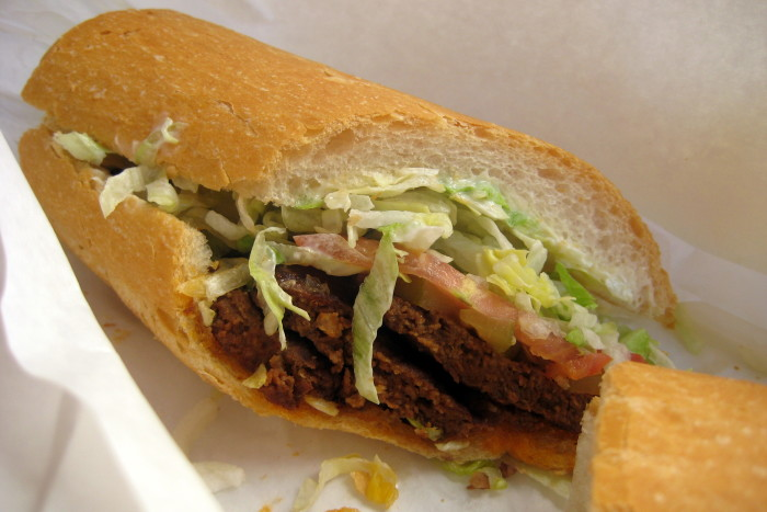 8. Po-boys were invented during a streetcar workers strike.
