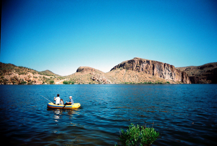 6. Spend a day out on one of Arizona's lakes.
