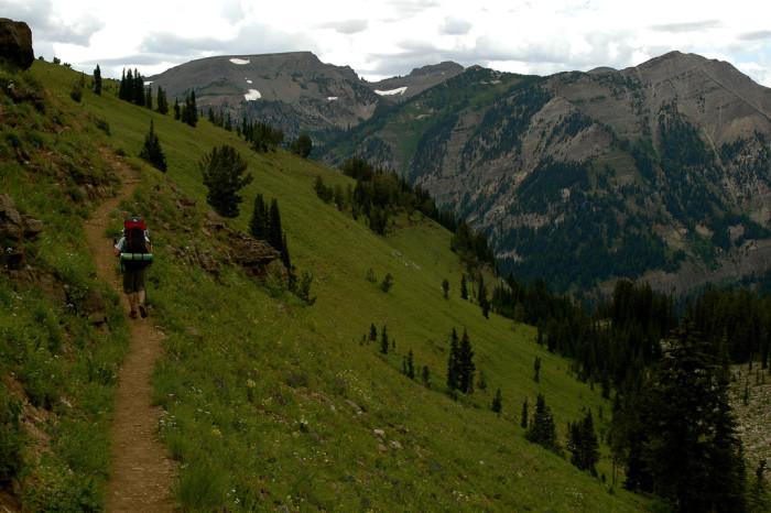 2. Teton Crest Trail