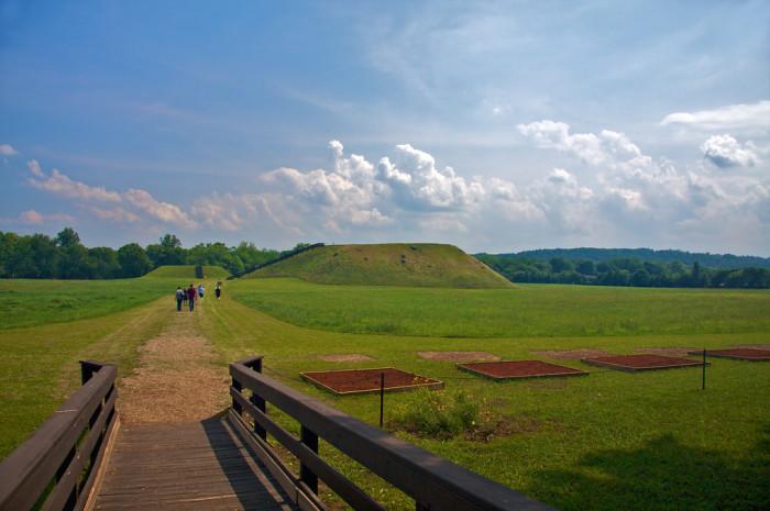 1. Etowah Indian Mounds, Cartersville, Georgia