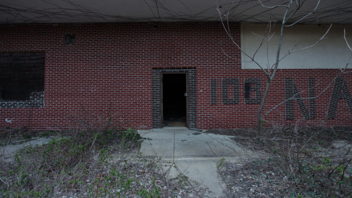 Entering these dark, dismal buildings is no doubt terrifying in real life.