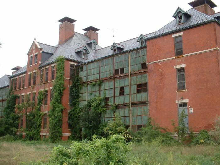 9. A hospital in Norwich.