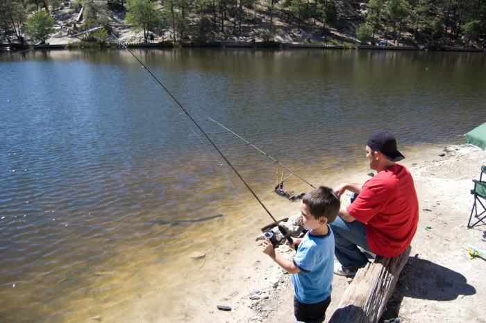 5. Fish at any of Arizona's many lakes.