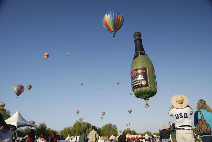 2. Temecula Valley Balloon and Wine Festival