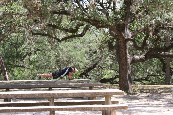 11. Austin is a fit and health conscious city. Sure, there's parks and endless miles of hiking trails, but the people of Austin know how to get fit anywhere, anytime.