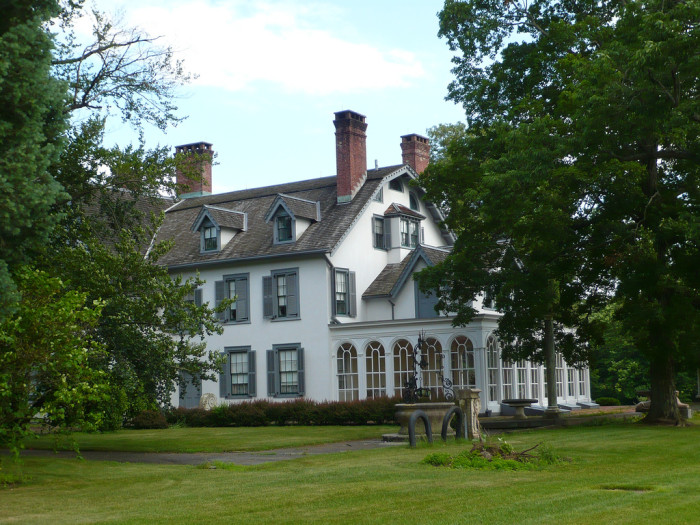 The 5000-acre park is home to not one, but TWO historic mansions.