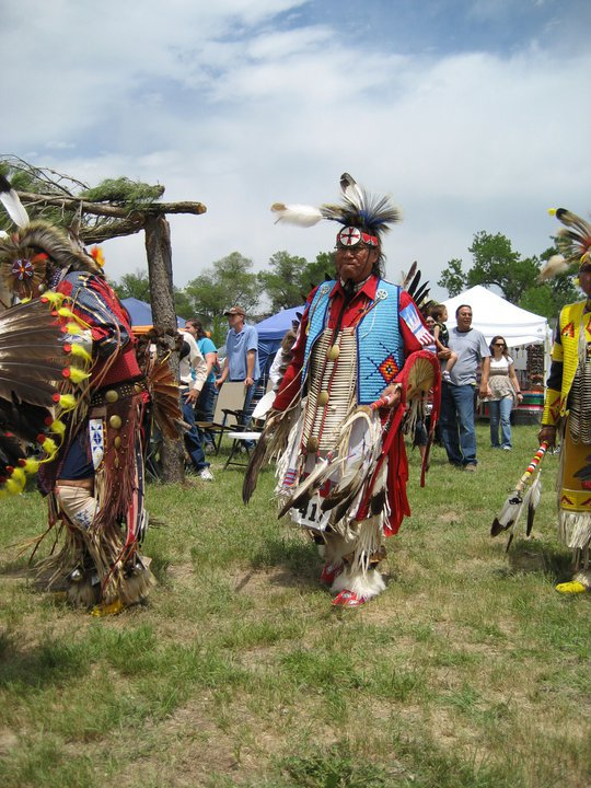 8. Head to a pow wow.