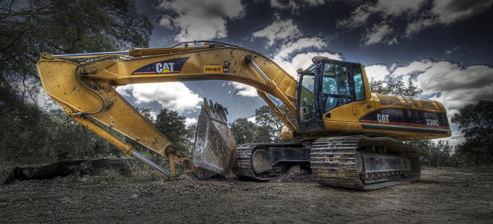 """3. """"DIG THIS: Stolen Excavator Used To Steal ATM."""""""