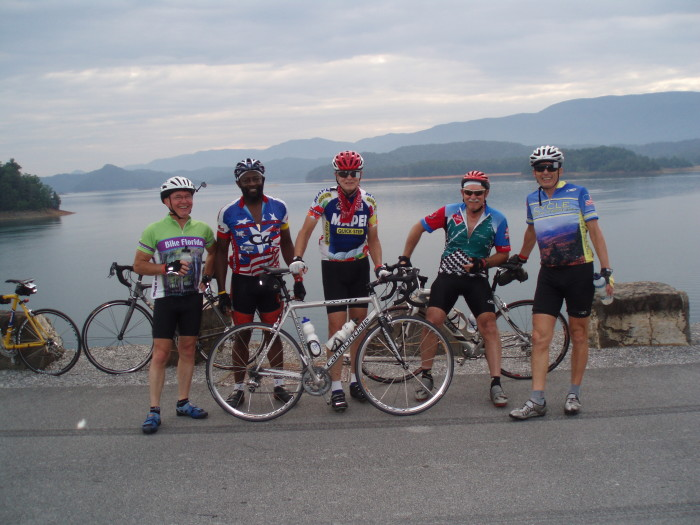 6. Hop on a bike...and ride for up to 400 miles