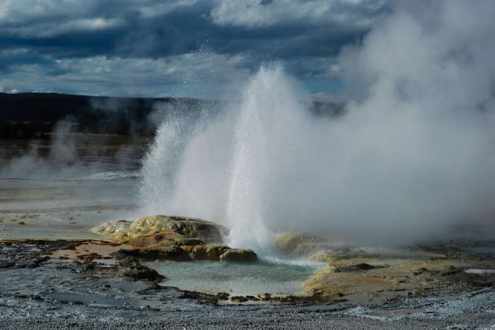 9. Geyser in Yellowstone National Park