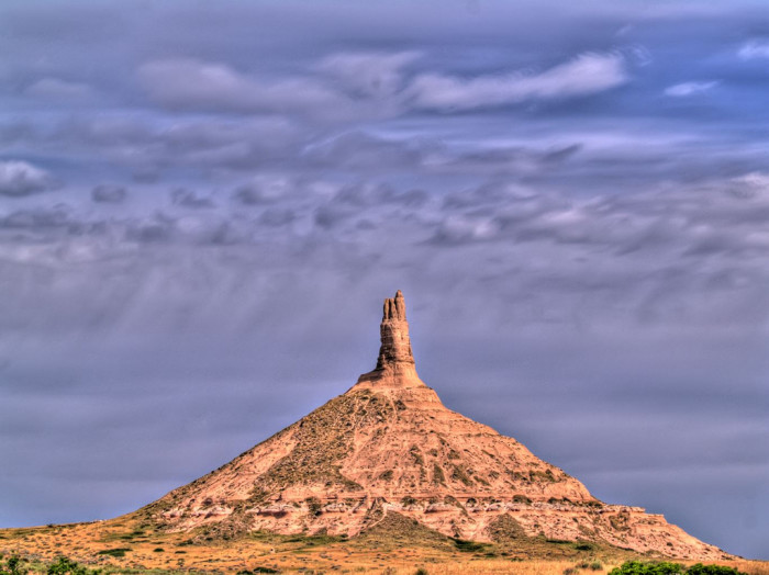 2. Chimney Rock, near Bayard