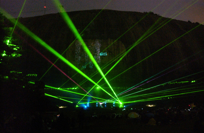 15. Check out a laser show.