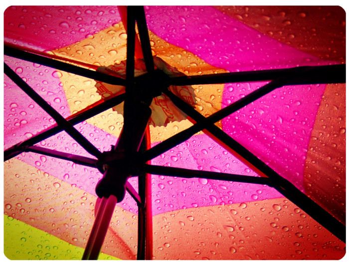 4. You can never find your umbrella when you need it.