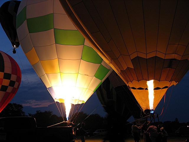 4. South County Hot Air Balloon Festival, Kingston