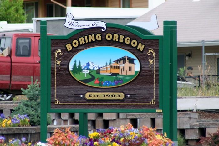 2. Boring, Oregon