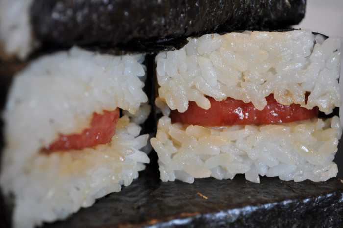 27. Fill up on spam musubi, loco moco, and other Hawaiian favorites.