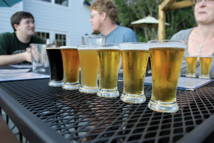 7. You expect to find seasonal craft beer and a lively social scene in just about any town.