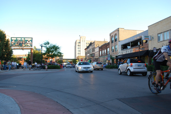 11. North Dakota has a place for any lifestyle - like busy cities....