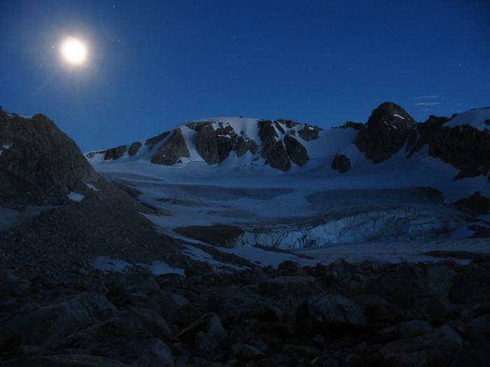18. Moon Over Klondike Peak