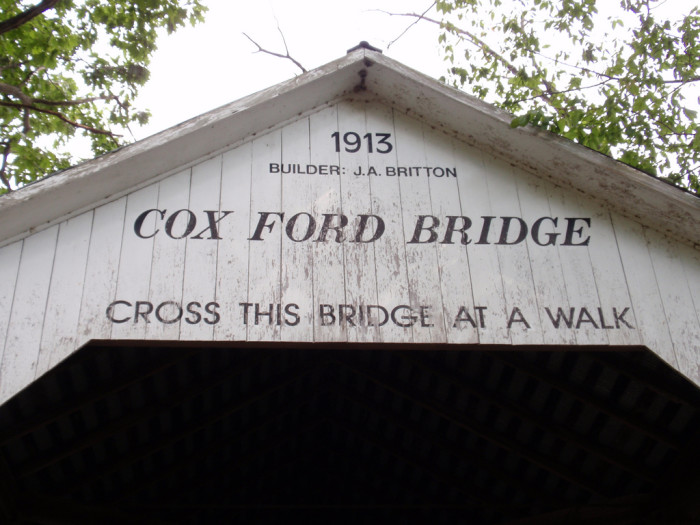 6. Cox Ford Bridge - Parke County