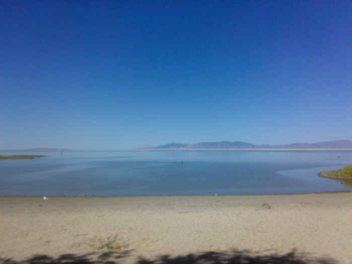 9. The last time you basked on a beach, it was at the Great Salt Lake.