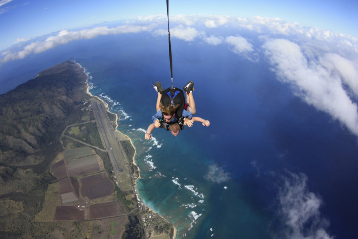 28. View the islands from an entirely different angle – via helicopter tour or skydiving excursion.
