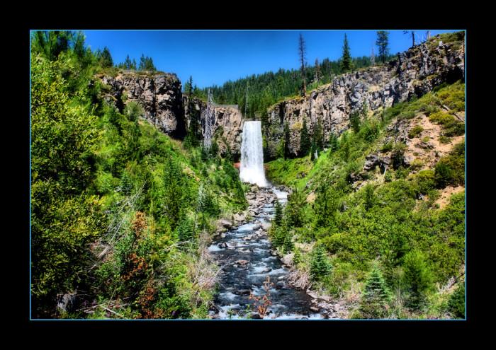 2. Tumalo Falls Trail.