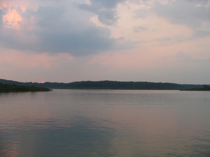 14. Bull Shoals Reservoir at Bull Shoals State Park: Arkansas shares the Bull Shoals Reservoir with Missouri, and its total area makes it the biggest lake at least partially inside the Natural State.