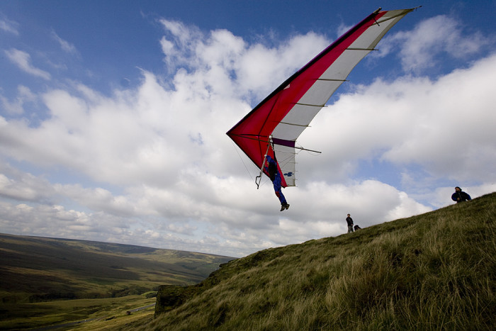 7. Hang Gliding at Lookout Mountain