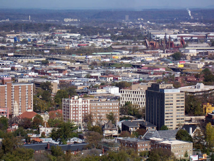 1. Birmingham, Alabama's largest city, is one of the most dangerous cities in the U.S.