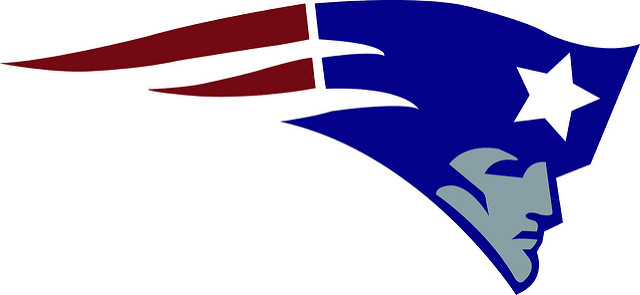 10. You own various articles of clothing with this logo on it. Go Pats!