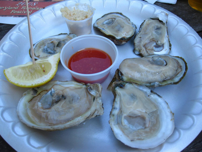 16. Oysters