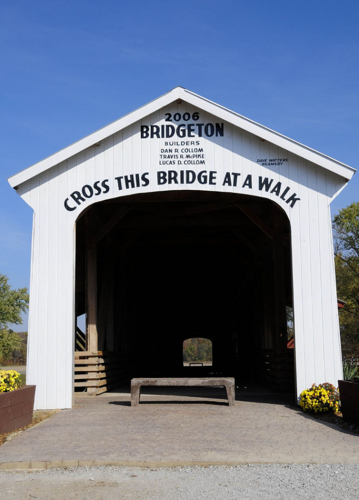 2. Bridgeton Covered Bridge - Bridgeton