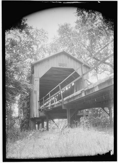 3. Although it has since been replaced, this Lowndes County bridge was originally constructed in 1885.