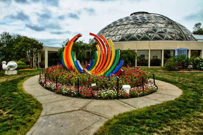 3. Take in the beauty of Mother Nature at the Greater Des Moines Botanical Center.