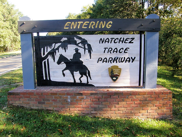3. The Natchez Trace Parkway spans 444 miles, which just so happens to be the distance from Boston to Ontario, Canada.