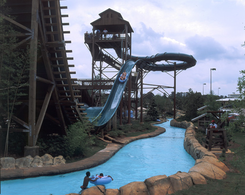 3. Cool off at a water park.