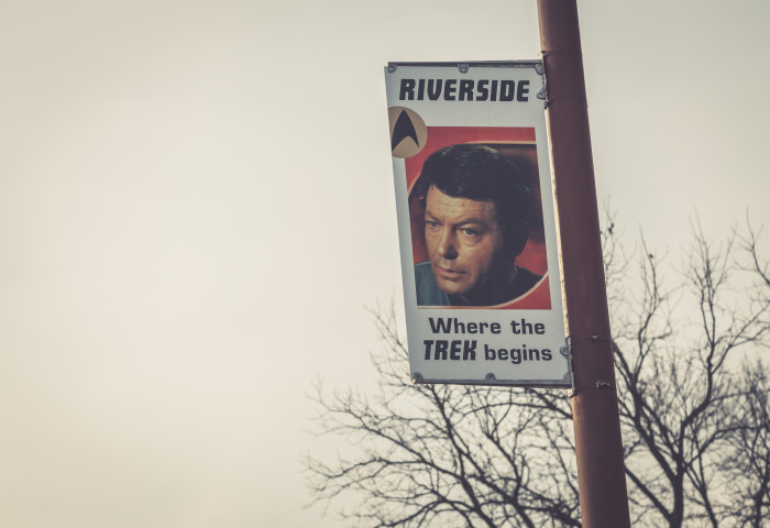 """It all started with the 1986 film """"Star Trek IV: The Voyage Home,"""" where someone assumes Kirk is from outer space. To this, he famously replied: """"No, I'm from Iowa. I only work in outer space."""""""