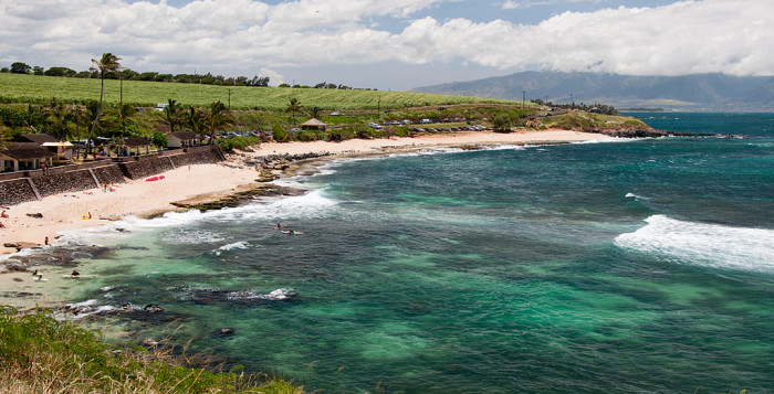 3. The highway is surrounded by majestic beaches on one side…