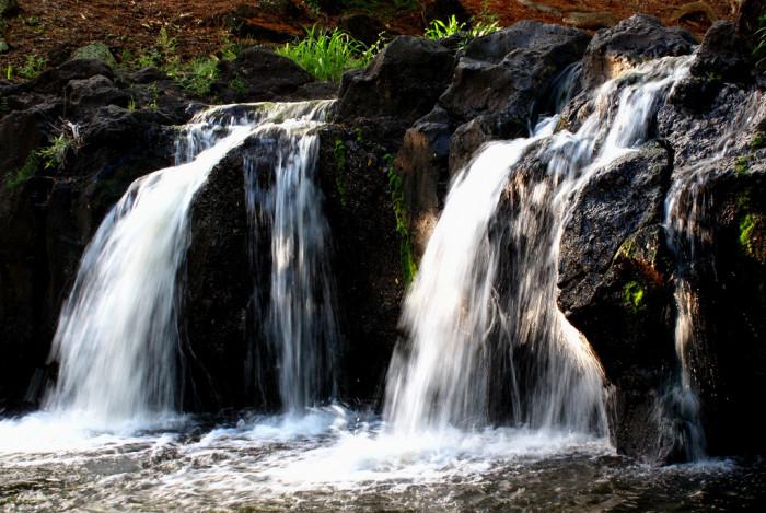 3. Waikahalulu Falls